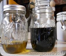 Add herbal oils
