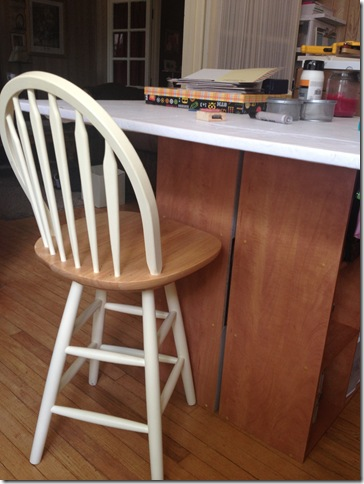cece caldwell paint stools