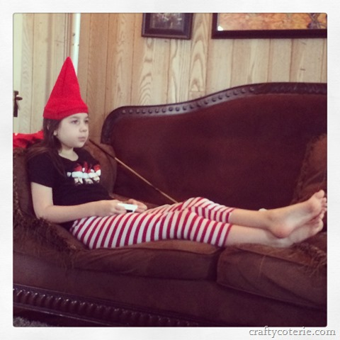 my elf of the couch