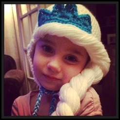elsa princess hat